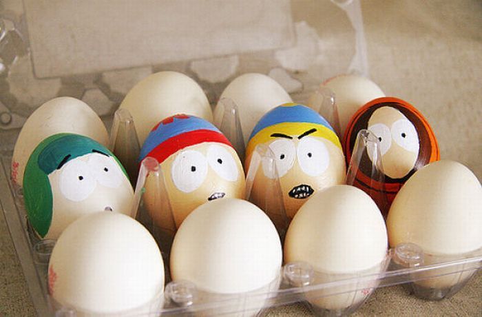 Funny Egg drawings 8 south park