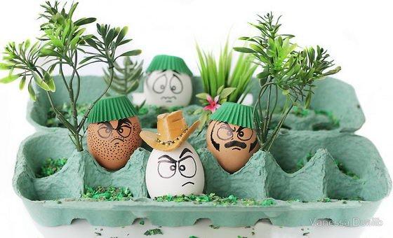 Funny Egg drawings 9 advantures