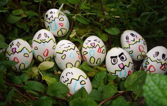 Funny Eggs 9 colors