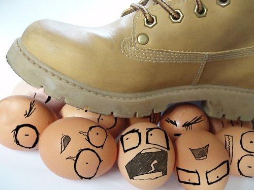 Funny Egg art 9 shoe