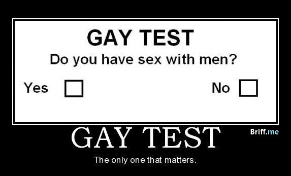 real gay test
