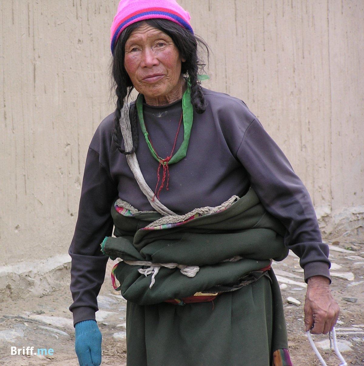 Native American People in Tibet 11