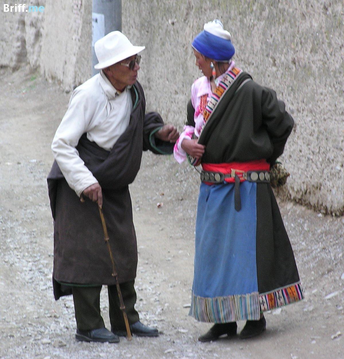 Native Americans in Tibet 6