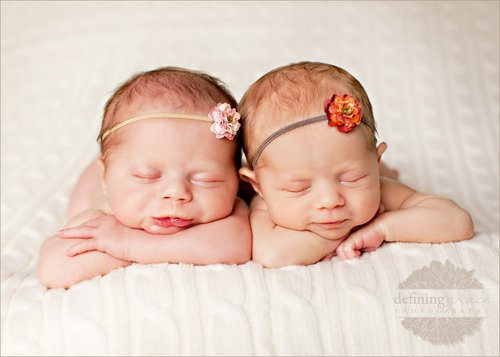 Twin Babies Sleeping 20