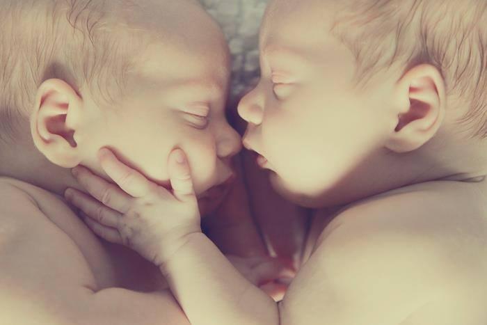 Baby Twins Sleeping 9