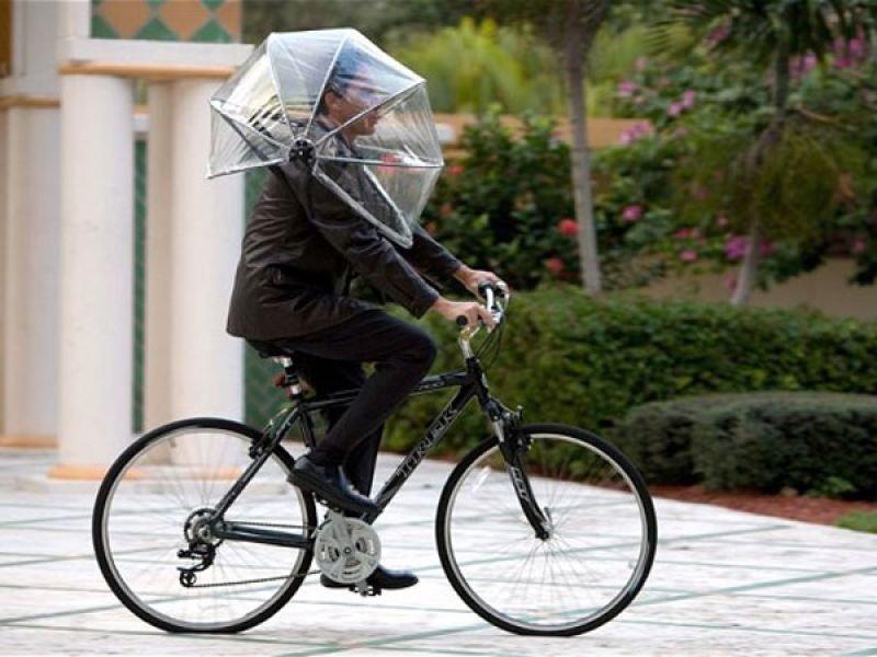 Full Transparent Bike Umbrellas