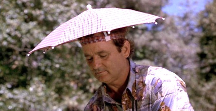 Umbrella Hat Bill Murray