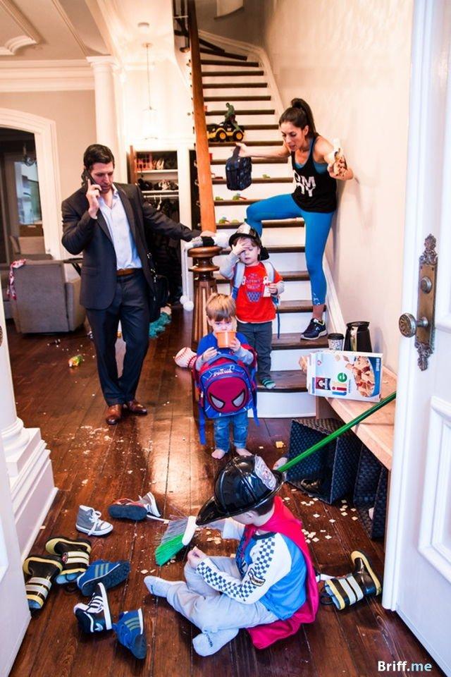 Work Pressure - Parenting