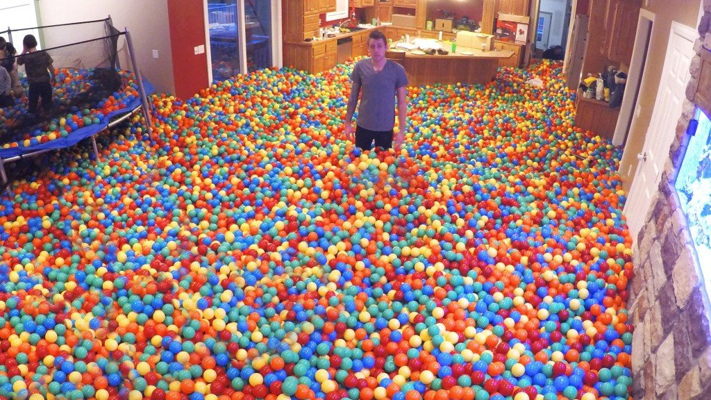 Crazy Plastic Ball PRANK