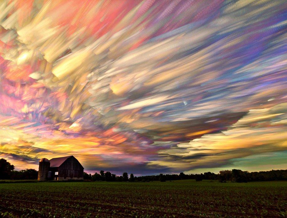 Smeared Sky By Matt Molloy