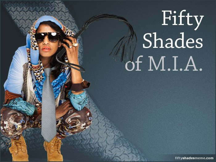 50 Shades of M.I.A.