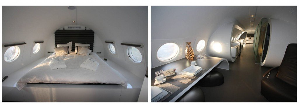 Airplane Suite 2 Funny AirBNB