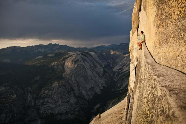 Alex Honnold at Yosemite High Places