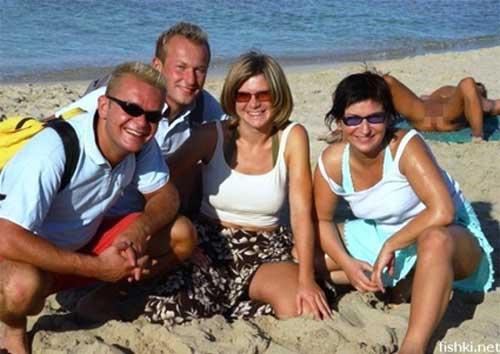Beach Funny Photo