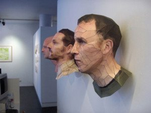 Bert Simons – Incredibly Lifelike Portrait Sculptures Paper Art