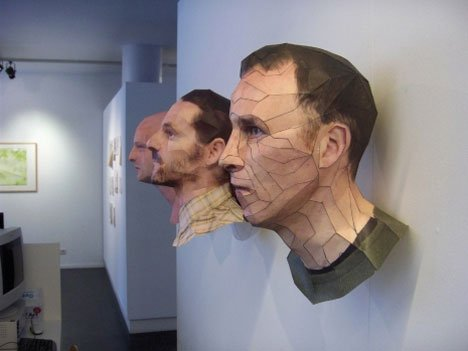 Bert Simons – Incredibly Lifelike Portrait Sculptures Paper Arts
