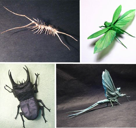 Brian Chan – Elegantly Crafted Insect Sculptures Paper Arts