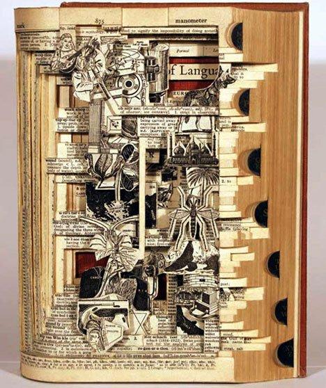 Brian Dettmer – Amazingly Complex Paper Cuts Paper Art
