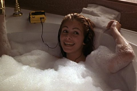 Celebrities Shower Julia Roberts