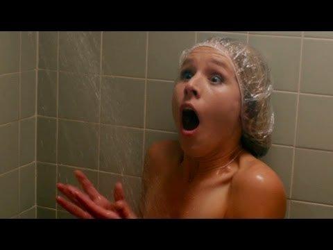 Celebrity Shower Kristen Bell