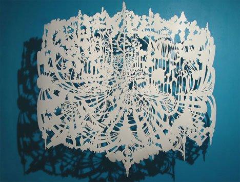 Chris Natrop – Draped and Shadowed Paper Art 2 Paper Art