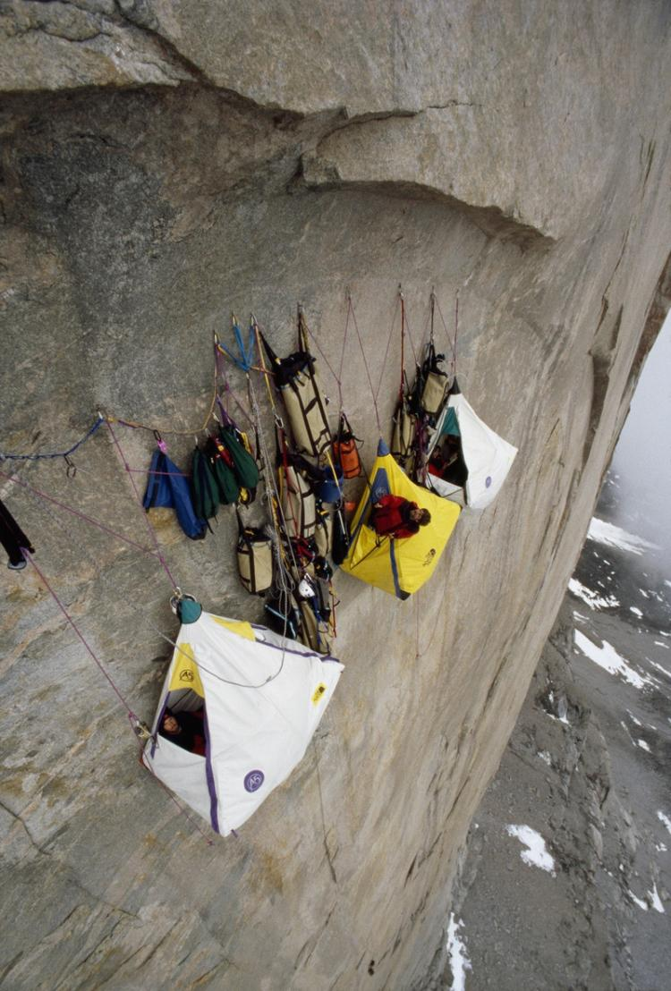 Cliff camping High Places