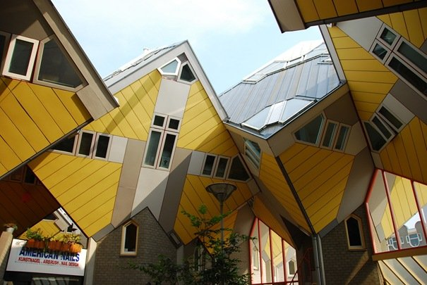 Cubic Houses (Rotterdam, Netherlands) Amazing Building