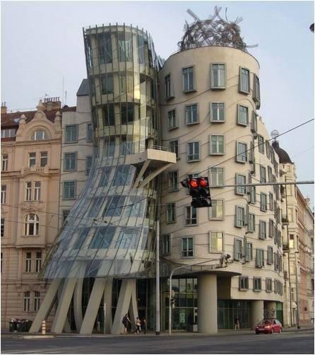 Dancing Building (Prague, Czech Republic) Amazing Building