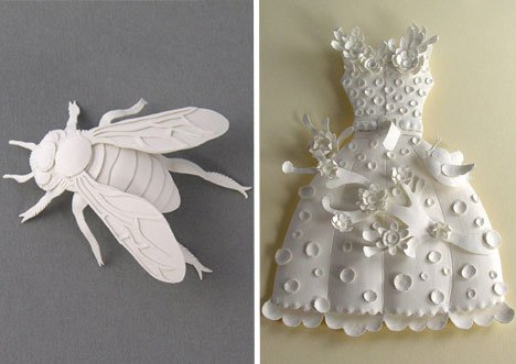 Elsa Mora – Variegated Detailed Paper Trinkets Paper Art