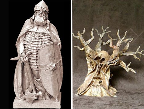Eric Joisel – Detailed Classic Monster Figures 2 Paper Art