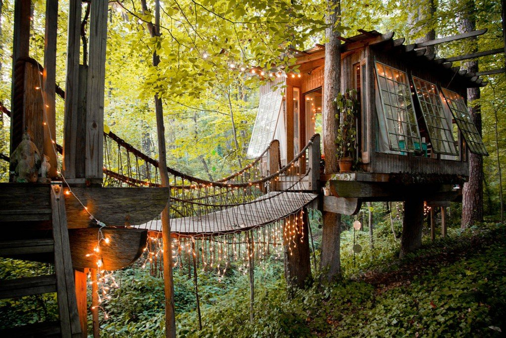 Fairytale Treehouse Epic AirBNB