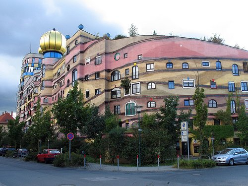 Forest Spiral - Hundertwasser Building (Darmstadt, Germany) Amazing Building