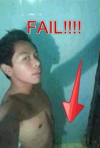 Funniest Selfie Fail