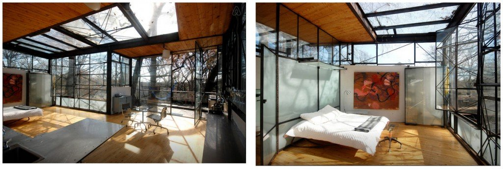 Glass Tree House 2 Epic AirBNB