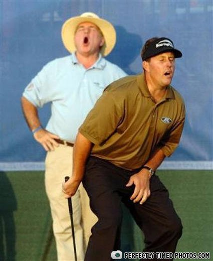 Golf Funny Photo