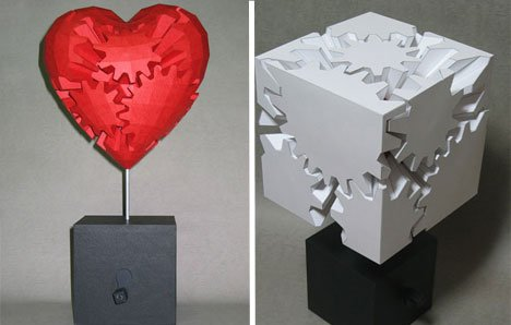 Haruki Nakamura – Moving Parts Paper Sculptures Paper Art
