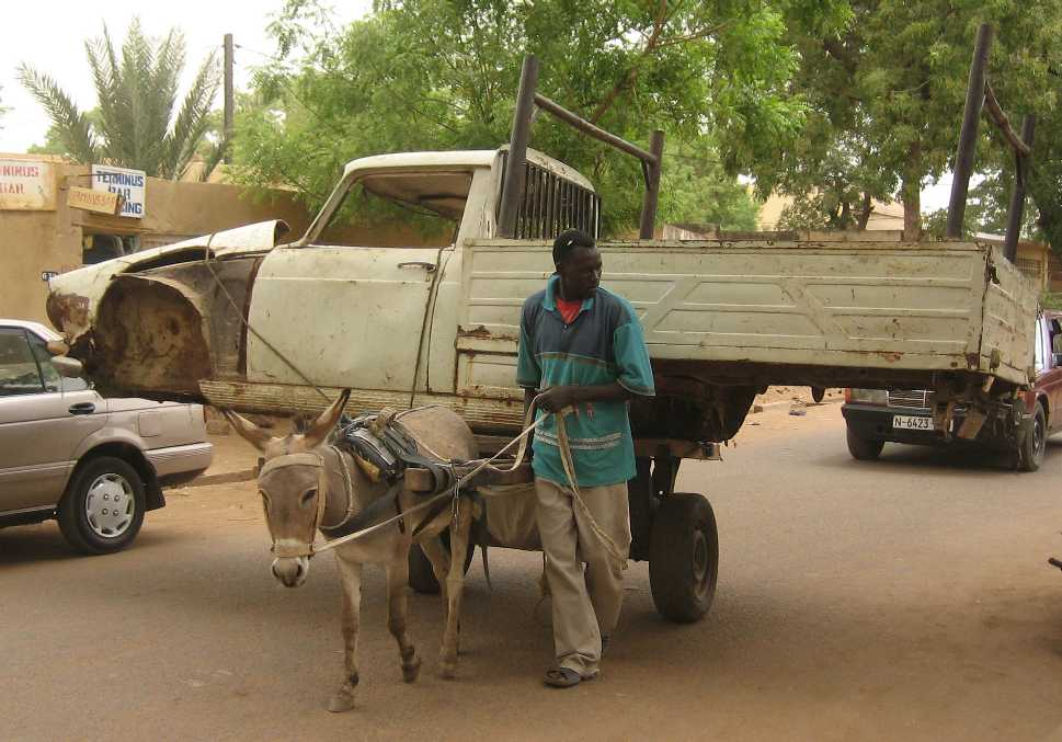 Horse Power Car 12 - Donkey Truck