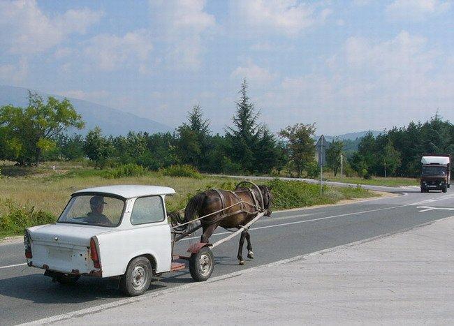 Horse Power Car 2 - Horse Pulling Car