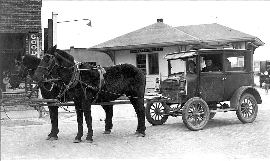 Horse Power Car 6 - Antique