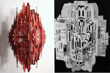 Ingrid Siliakus – Detailed Architectural Masterpieces Paper Art