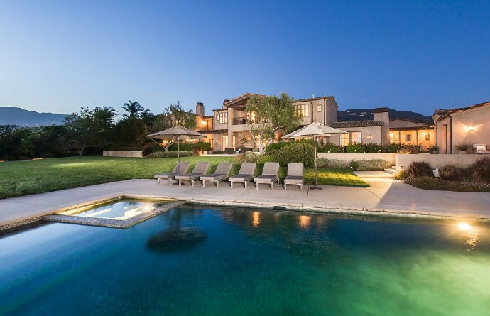 LADY GAGA Young Celeb Homes