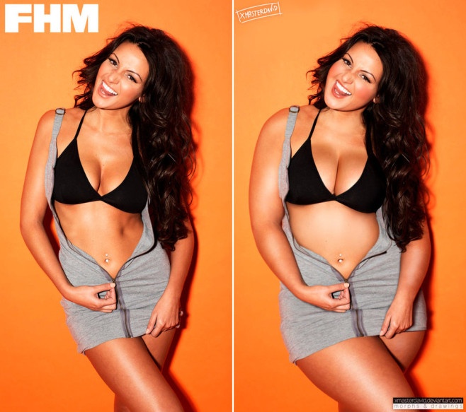 Michelle Keegan Fat Celebrities