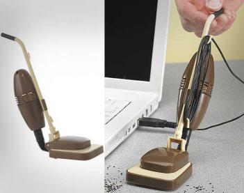 Mini desk vacuum Crazy Gift Ideas