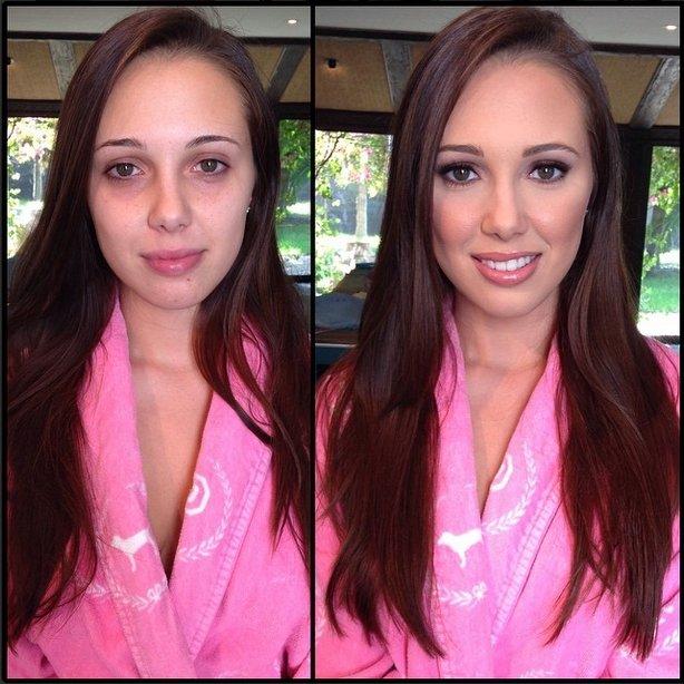 Models without Makeup 11 - JennaSativa