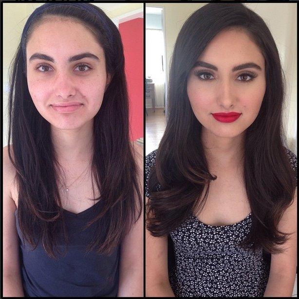 Hot Model without Makeup 5 - TessAziz