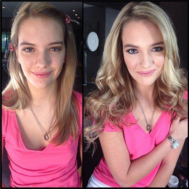 Models without Makeup 9 - KennaJames