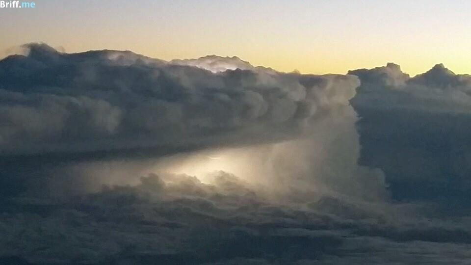 Office View 3 - Pilot Photos - Storm Clouds