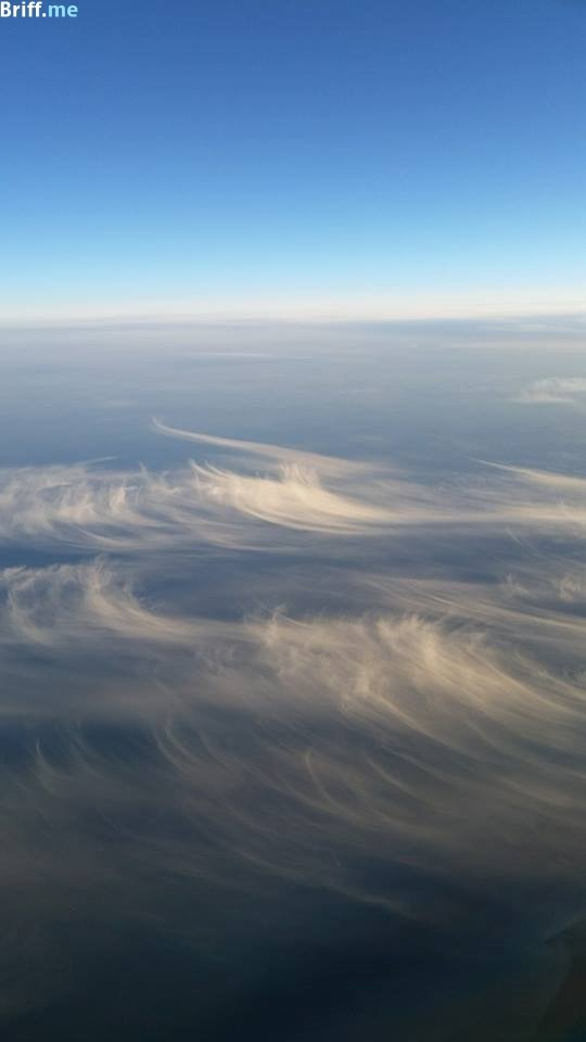 Office View 5 - Pilot Photos - Feather Clouds from Above