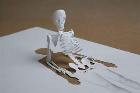 Peter Callesen – Playful Seasonal Paper Sculptures 2 Paper Art