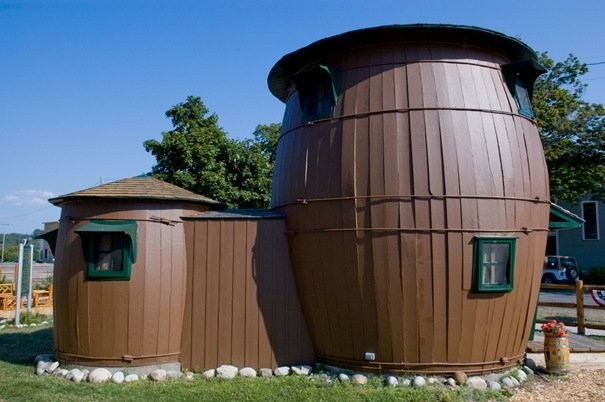 Pickle Barrel House, Grand Marais, Michigan, USA Amazing Buildings